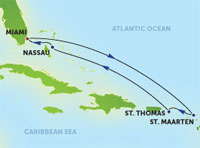 7-Day Eastern Caribbean, Round-trip Miami